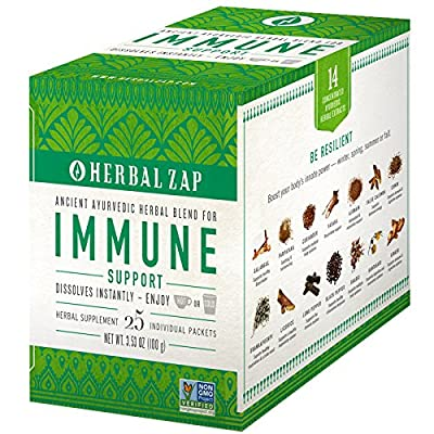 "Herbal Zap ""Digestive & Immune Support"" 25 - Count Box"