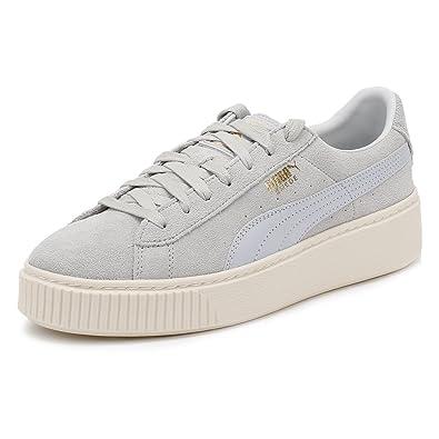 scarpe puma basket donna blu