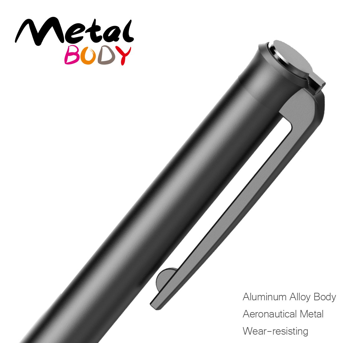 HAHAKEE iPad Stylus Pen, No Bluetooth Connection, Support 40hrs Working & 30Days Standby, High Precision Rechargeable Stylus for ipad Series, Passed FCC Certification by HAHAKEE-life (Image #3)