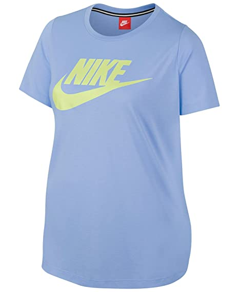 ab5fef19c605 Image Unavailable. Image not available for. Color  Nike Sportswear  Essential Women s Logo Short Sleeve Top ...