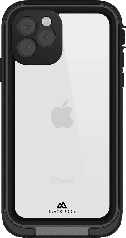Black Rock 360 Hero Hülle Für Apple Iphone 11 Pro Handyhülle Wasserdicht Tauchfähig Bis 8 M Ip68 Outdoor Case Cover Transparent Mit Schwarzem Rahmen Elektronik
