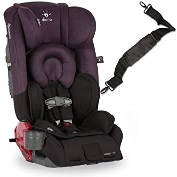 Diono Radian RXT Car Seat With Carrying Strap Black Plum