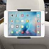 Support Tablette Voiture,Support de Voiture pour Tablette, Yica Support de Tablette Universelle 360 Degrés de Support de Rotation Support de tête Réglable Support Support de Voiture pour Appuie-tête de Voiture, Compatible iPad 2/3/4 iPad Mini iPad Air, Galaxy Tab A Fire Kindle HD 6/7/8 et Autres Tablette