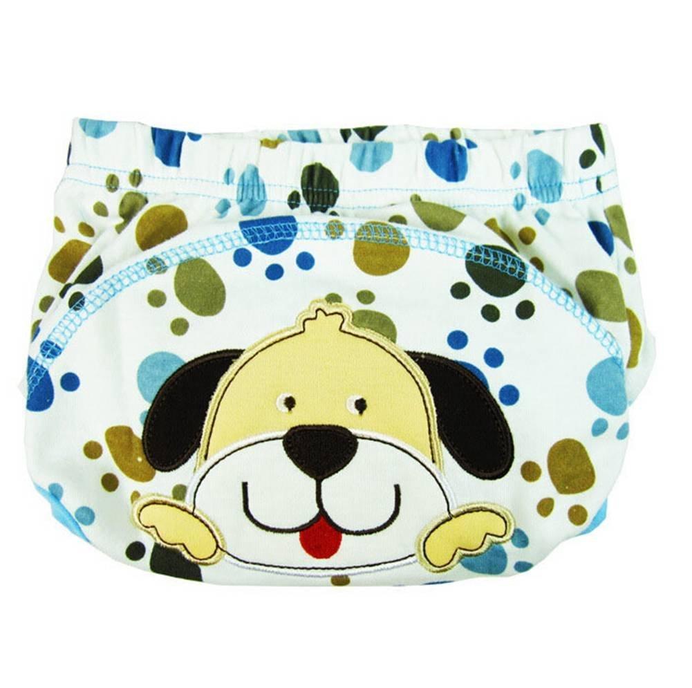 DAYAN bébé toilette pantalon de formation de pot avec 3 couches pour bébé garçon fille enfants, M (couleur aléatoire)