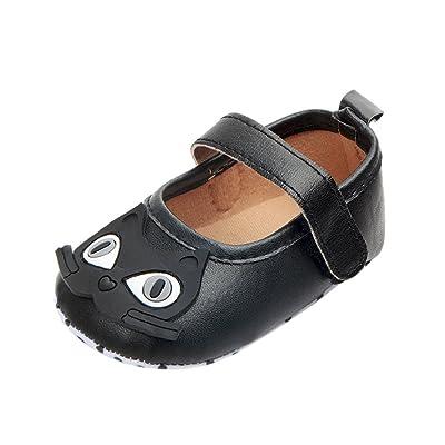 Elyseesen Chaussures Bébé Nouveau-Né Bébé Fille de Bande Dessinée Sneaker Semelle Souple Anti-Dérapant Unique Chaussures Walker