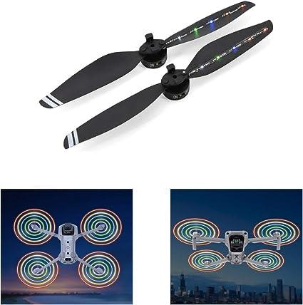 For DJI Mavic Air RC Drone Parts Night Flight LED Light Flash Propeller Props