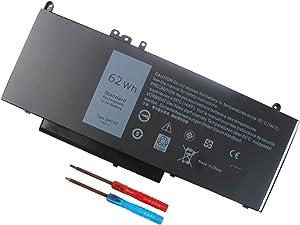 6MT4T Battery for Dell Latitude E5570 E5470 7V69Y TXF9M 79VRK 07V69Y 7.6V 62WH - 12 Months Warranty