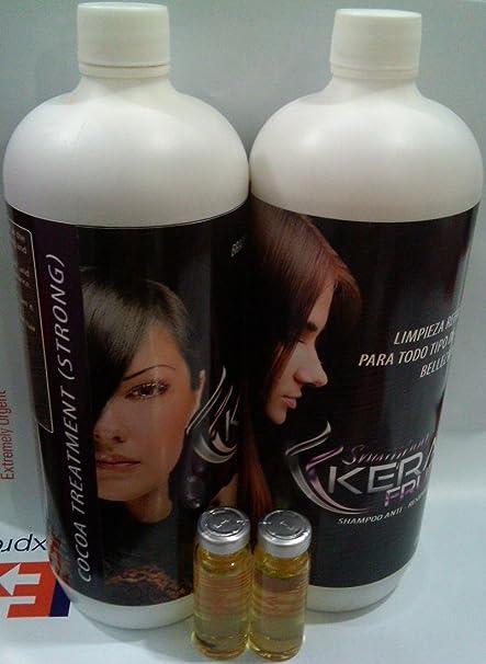 Keratin Kerafruit COCOA 1 Liter, 2 gift capillaries Blisters