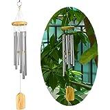 Carillon vent Bells de guérison avec décoration jardin extérieur Cour, 6 Tubes