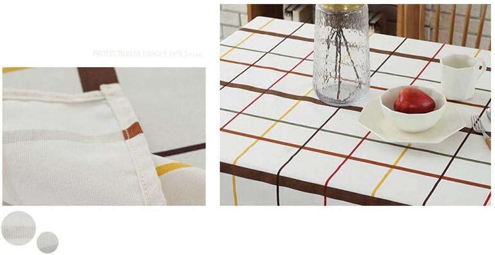 hotel. /Manta Caf/é 90 x 90 cm azul Retro/ jomnm estilo r/ústico Senior Lienzo redondas rect/ángulo mantel Picnic/ /Mantel para comedor