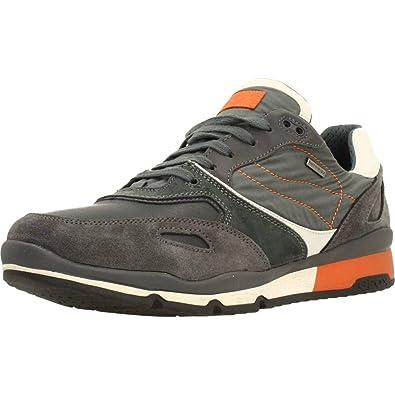 Botas para Hombre, Color Negro, Marca GEOX, Modelo Botas