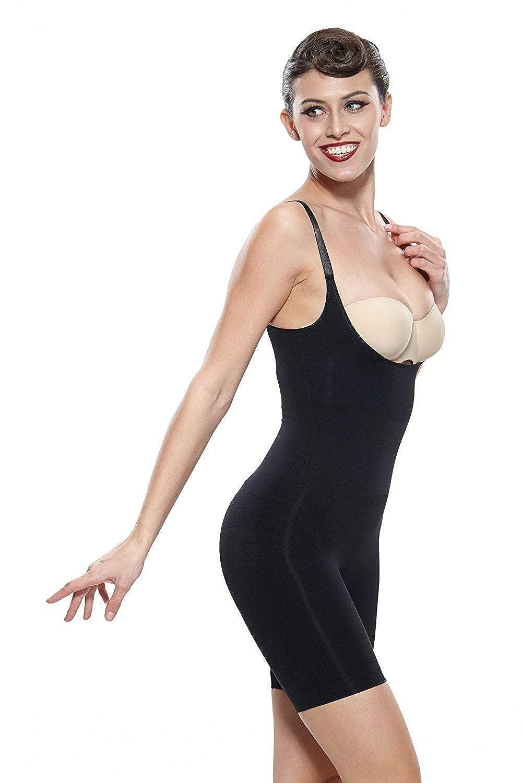 Franato Womens Firm Control Slimming Bodysuit Shapewear