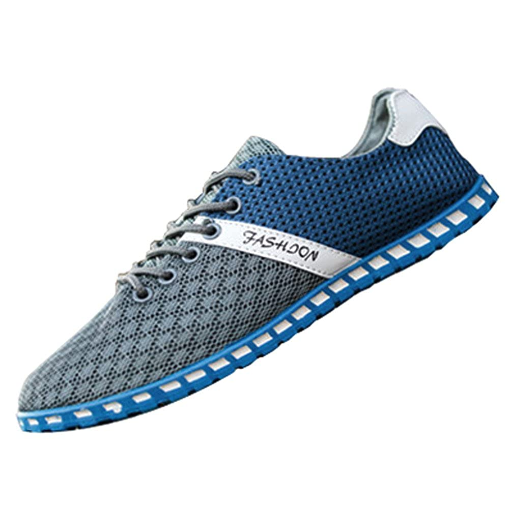 Oyedens Scarpe da Corsa Scarpe Sportive da Uomo Scarpe da Ginnastica Outdoor Antiscivolo Fashion Mesh Sneakers Flat Shoes Scarpe Stringate Uomo