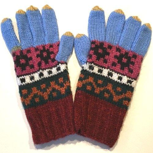 手編み手袋12 M