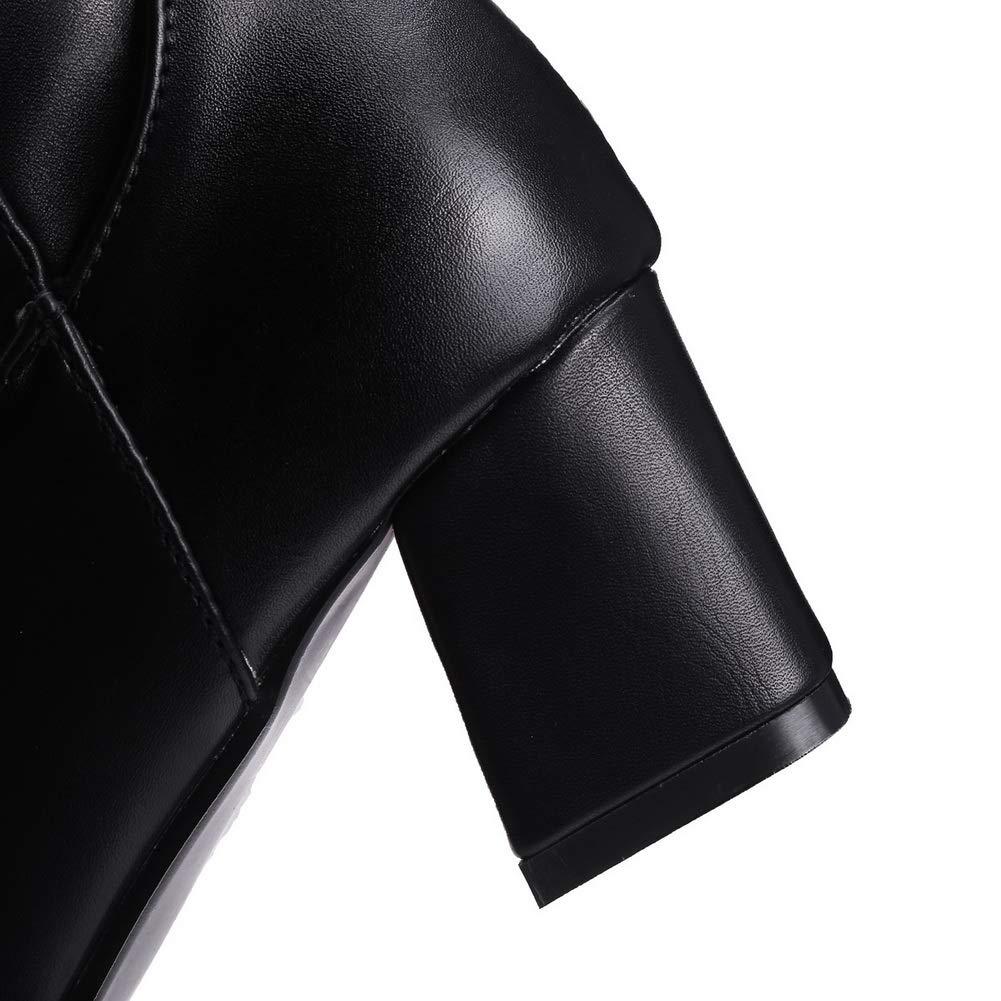 AdeeSu Womens Chukka Solid Fashion Urethane Boots SXC03608