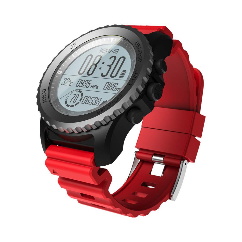 SPORS Multiple Sports Mode Outdoor Watch, IP68 Waterproof Heart Rate Smart Watch, GPS Positioning air Pressure Measuring Temperature Watch-2 by SPORS