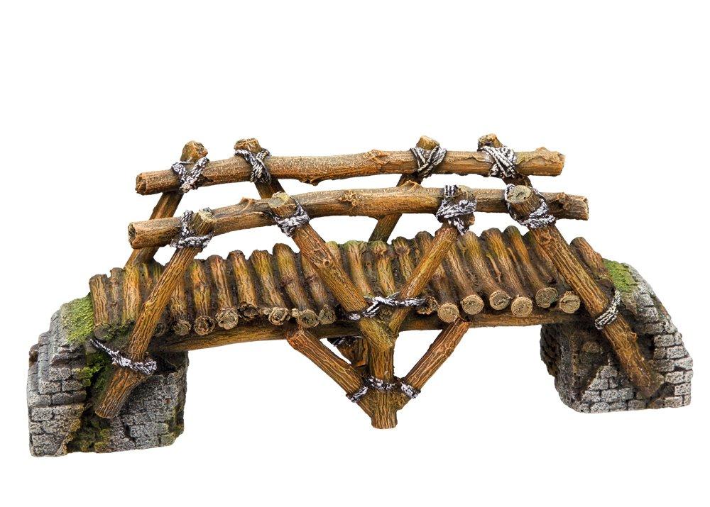 Nobby legno ponte acquario decorativo, 25.8x 8x 10cm 28270