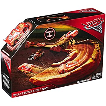 Disney pixar cars 3 thunder hollow challenge playset toys games - Coloriage cars 3 thunder hollow ...