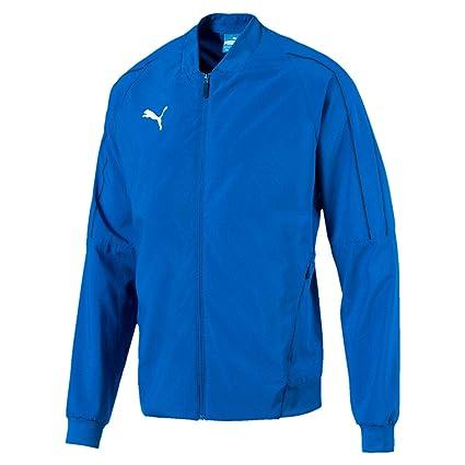 Puma 655601 Veste de survêtement Homme Bleu (Electric Bleu