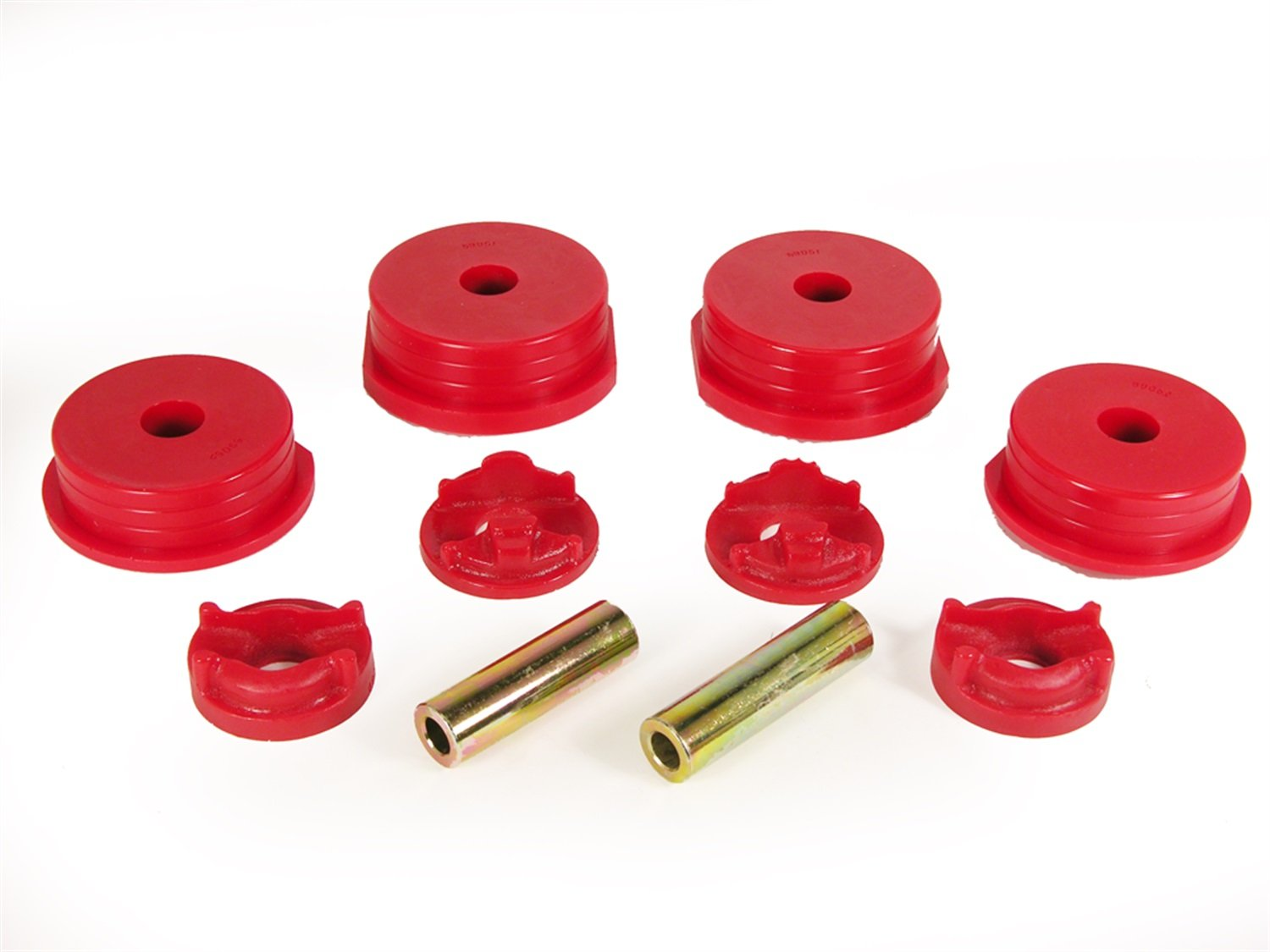 Prothane 13-1901 Red Motor and Transmission Mount Insert Kit by Prothane