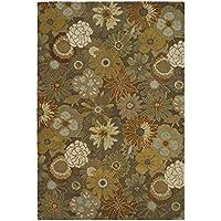 Safavieh Soho Collection SOH820A Handmade Brown and Multi Premium Wool Area Rug (36 x 56)