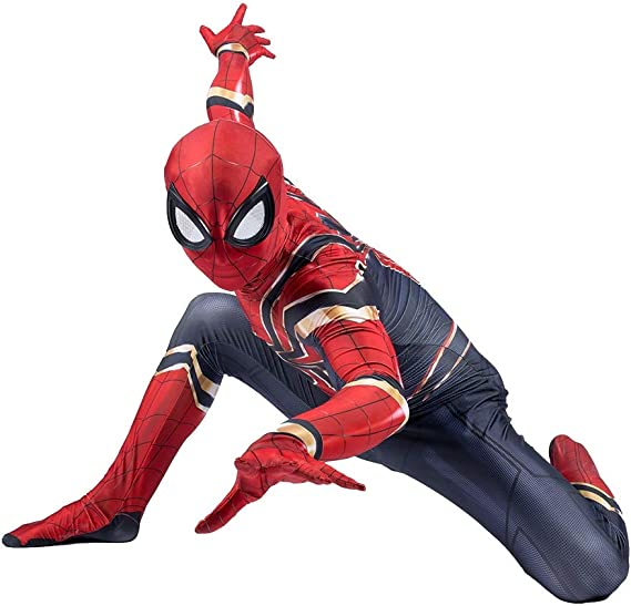 SPIDERMANHTT Spiderman Niño Adulto Cosplay Disfraz Vengadores ...