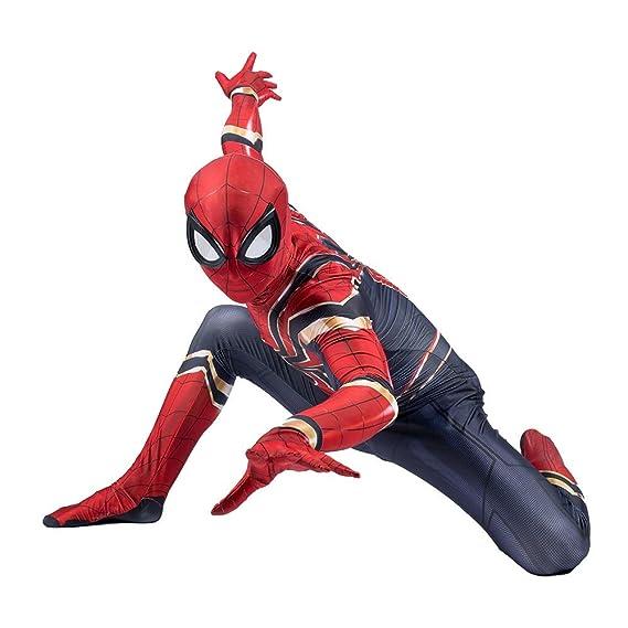 ZYFDFZ Traje de Cosplay de Spiderman, Avengers Iron ...
