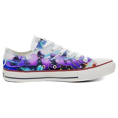 Converse All Star Chaussures Coutume Mixte Adulte (Produit artisanalPersonnalisé) Slim Pop Style