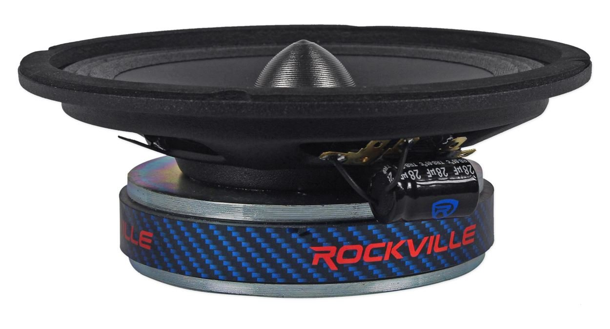 (2) Rockville RXM68 6.5'' 300w 8 Ohm Mid-Range Drivers Car Speakers, Mid-Bass by Rockville (Image #5)