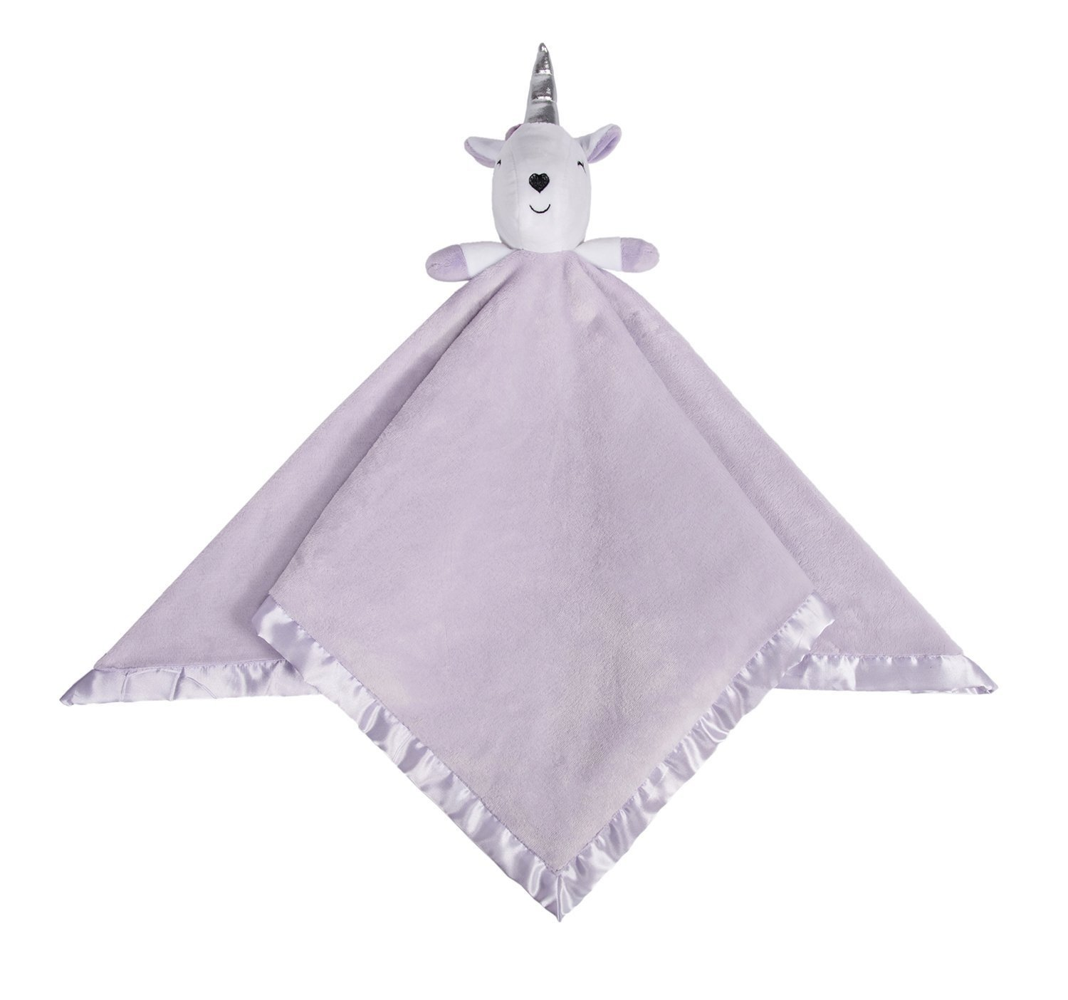 Baby Unicorn Comfort Blanket Security Blankie Warm Lovely Cute Fleece Flannel Blanket, Soft Toy, Baby/Infant Toy, Blue Ataya