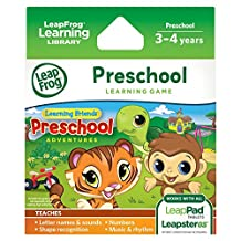 Leapfrog Friends: Preschool Adventures Learning Game (for LeapPad Tablets and LeapsterGS)