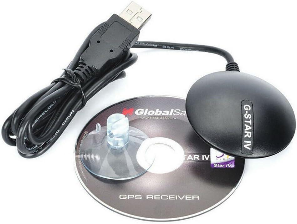 Globalsat Bu 353s4 Usb Récepteur GPS avec câble Sirf Star Iv G souris pour ordinateurs portables et Pc Portable Mini récepteur GPS
