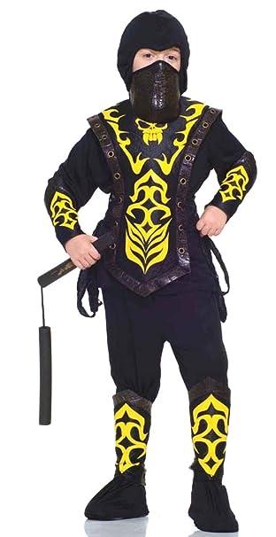 Amazon.com: Ninja Master Child Costume: Toys & Games