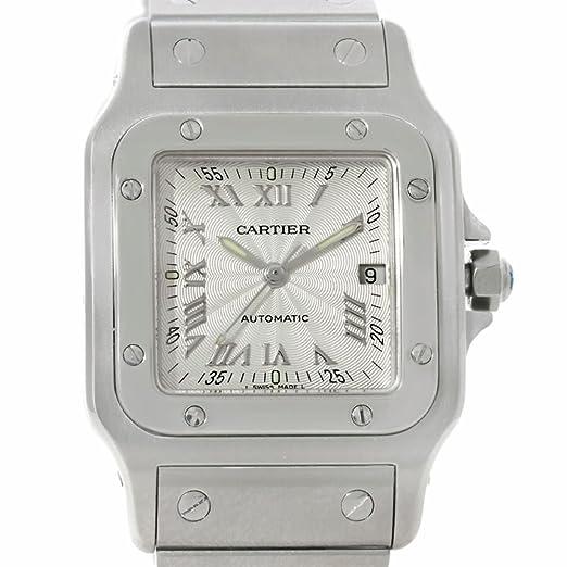 Cartier Santos Automatic-Self-Wind Mens Reloj w20055d6 (Certificado) de Segunda Mano: Cartier: Amazon.es: Relojes