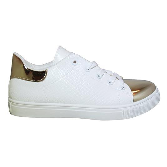 JT - Zapatillas de casa Mujer , color blanco, talla 39
