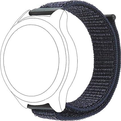 Amazon.com : ECSEM Nylon Loop Bands Compatible Vector Watch ...
