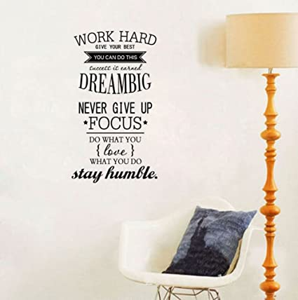 47bf5363d2ef Image Unavailable. Image not available for. Color  Ducklingup Wall Decal  Quote ...