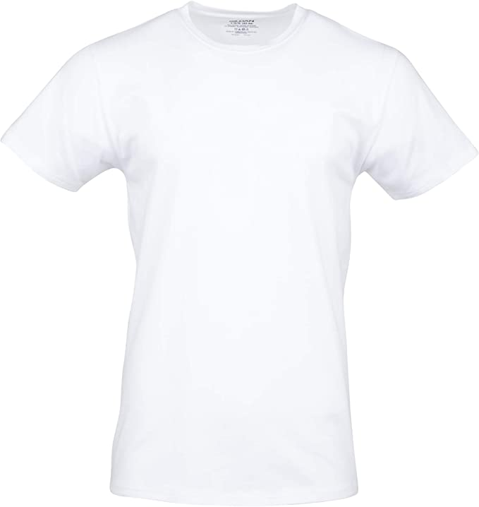 Gildan Men's Cotton Stretch Crew T-Shirt