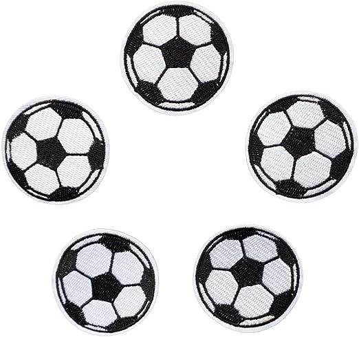 5pcs bola parches hierro en parches de fútbol de balón de fútbol ...