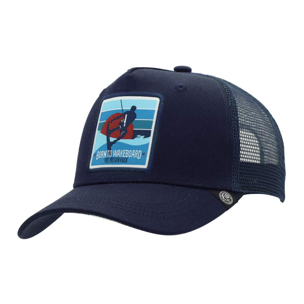 The Indian Face Wakeboard Gorra Born to Wakeboard Unisex