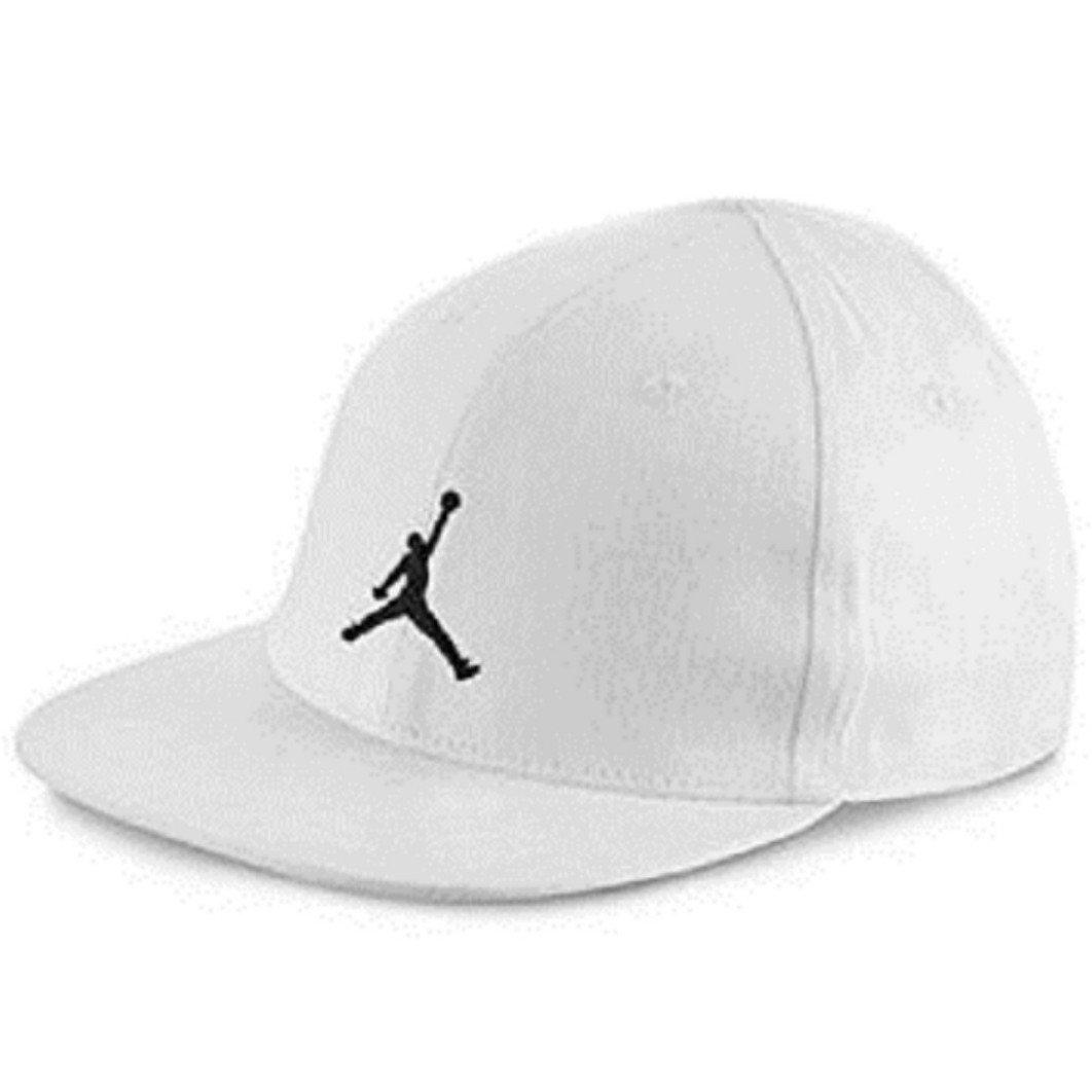 421ead7ebf934 Nike Michael Jordan Air Hybrid True Illusion Snapback Hat Baseball Cap ( White Black) INFANT 12-24 Months  Amazon.co.uk  Sports   Outdoors
