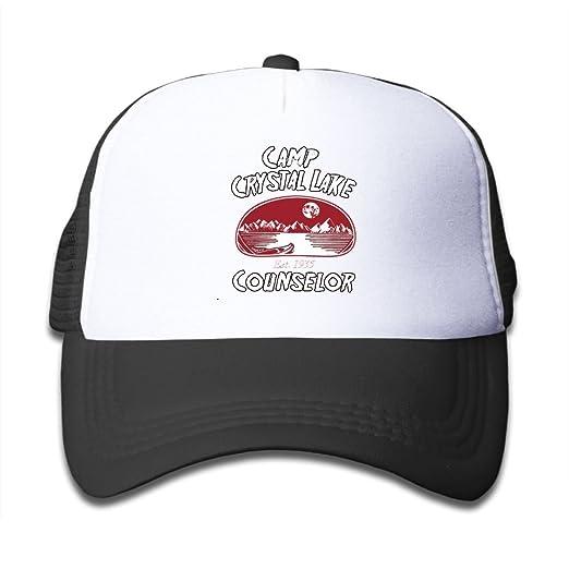 3d089717032 Kkidj Ooii Mesh Baseball Caps Boys Girls Youth Snapback Hats Camp Crystal  Lake Counselor
