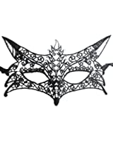 Fox Shape Hollow Out Lace Halloween Evening Party Prom Masquerade Mask Lace Mask