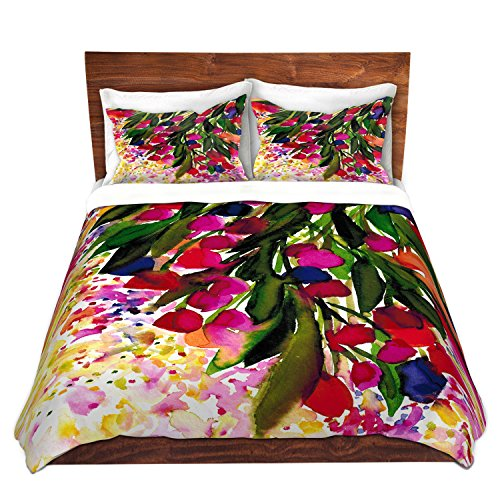 Regency King Sham - DiaNoche Designs Duvet Cover Brushed Twill Twin, Queen, King Sets by Artist Julia Di Sano - Botanical Regency I Rainbow Home Decor, Bedroom and Bedding Ideas
