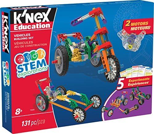 K'NEX Education STEM EXPEDITIONS: Vehicles Building Set Building Kit