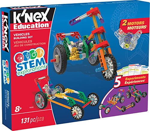 K'NEX Education STEM EXPLORATIONS: Vehicles Building Set Building (Wind Power Experiment Kit)