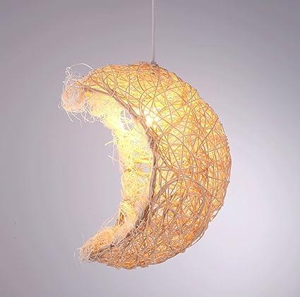 Amazon.com: DGF Smallpox Chandelier Kids Room Bedroom Aisle Lighting  Handmade Moon Decorative Lights: Home U0026 Kitchen