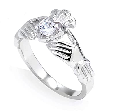 Amazon.com: 14 K oro blanco 0,19 quilates de diamantes ...