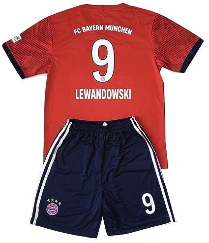 size 40 2dd53 b4364 Amazon.com : Gadzhinski2017 Lewandowski #9 Bayern Munich ...