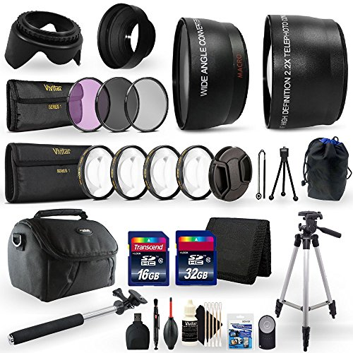 All in One Ultimate Accessory Kit for Nikon D5300 Digital SLR Camera